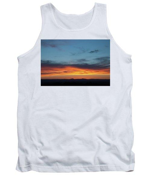 Taos Mesa Sunset Tank Top