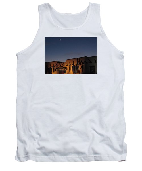 Taos Plaza Tank Top by Christopher Kirby