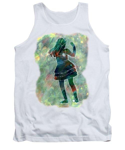 Tap Dancer 1 - Green Tank Top