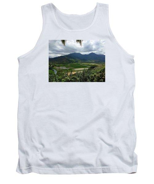 Taro Fields On Kauai Tank Top by Brenda Pressnall