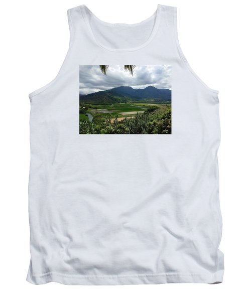 Taro Fields On Kauai Tank Top