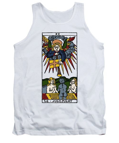 Tarot Card Judgement Tank Top