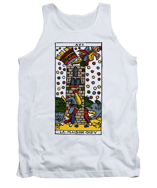 Tarot Card Poorhouse Tank Top by Granger