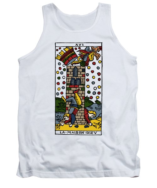 Tarot Card Poorhouse Tank Top
