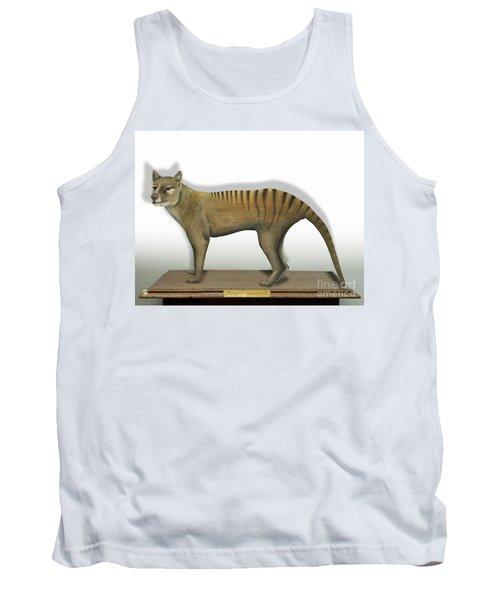 Tasmanian Tiger-thylacinus Cynocephalus-tasmanian Wolf-lobo De Tasmania-tasmanian Loup-beutelwolf    Tank Top