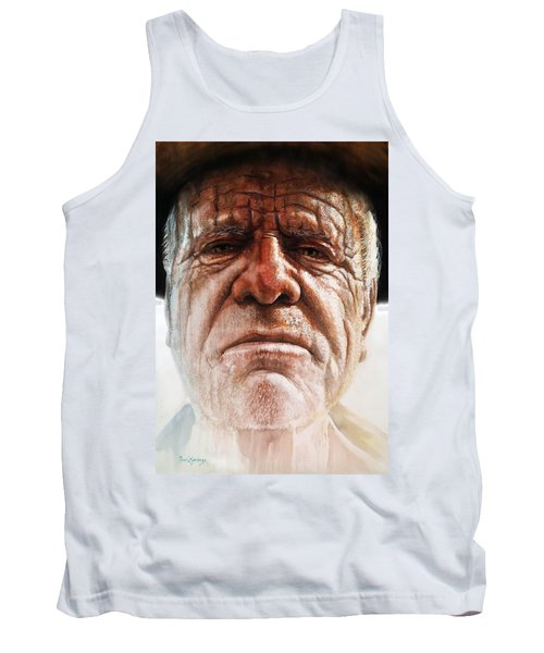 Tank Top featuring the painting Tatoos Of A Resilience by J- J- Espinoza