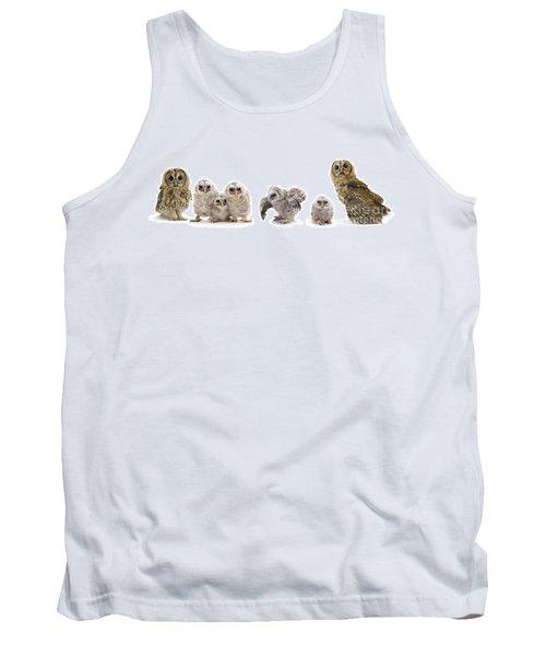 Tawny Owl Family Tank Top
