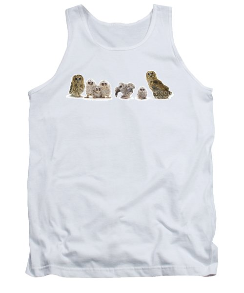 Tawny Owl Family Tank Top