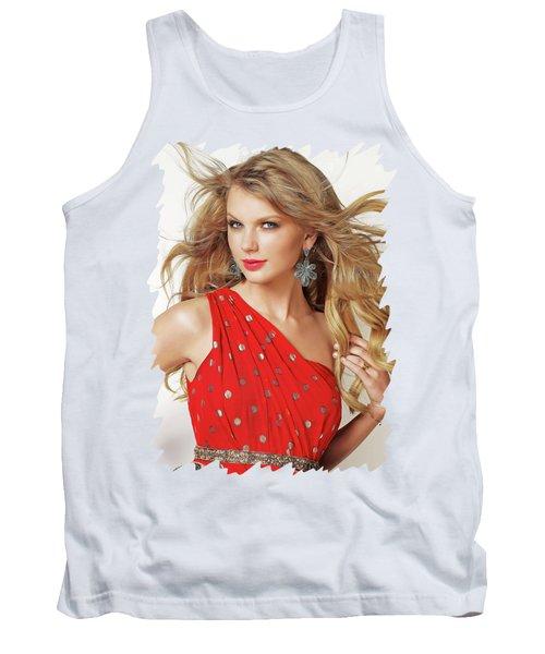 Taylor Swift Tank Top by Twinkle Mehta