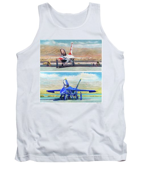 Tbirds And Angels Maintenance Tank Top