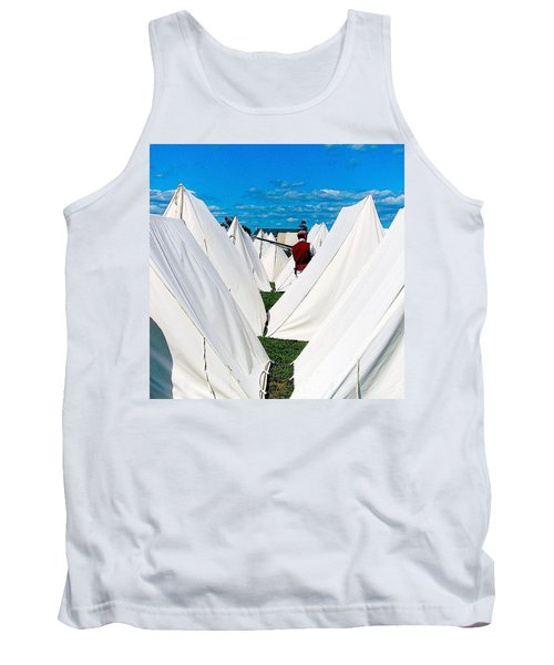 Field Of Tents Tank Top
