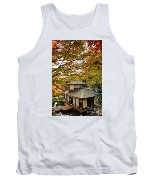 Tank Top featuring the photograph Tea Ceremony Room by Tad Kanazaki