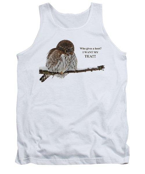 Tea Owl Tank Top