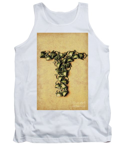 Tea Pot Art Tank Top