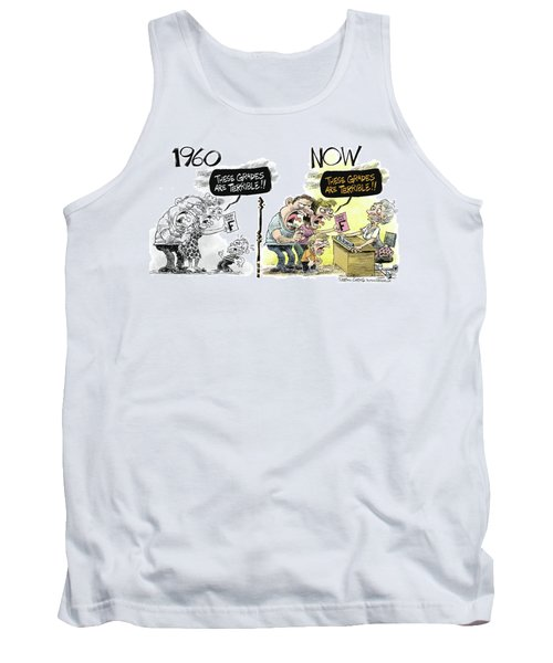 Teachers Then And Now Tank Top