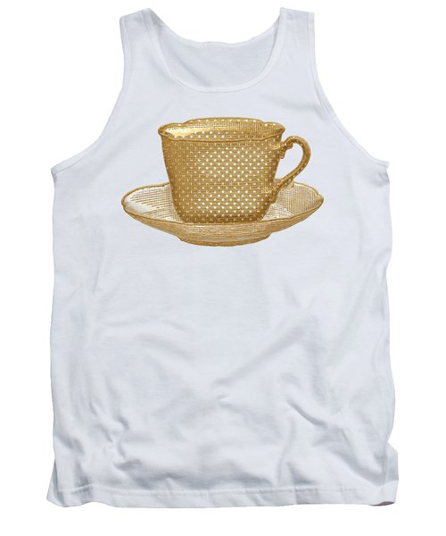 Teacup Garden Party 3 Tank Top