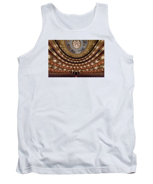 Teatro Colon Performers View Tank Top by Randy Scherkenbach