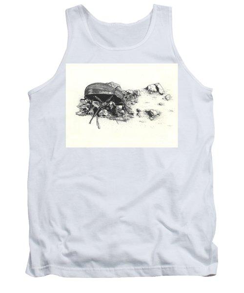 Darkling Beetle Tank Top