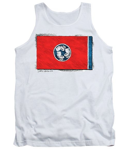 Tennessee Bathroom Flag Tank Top