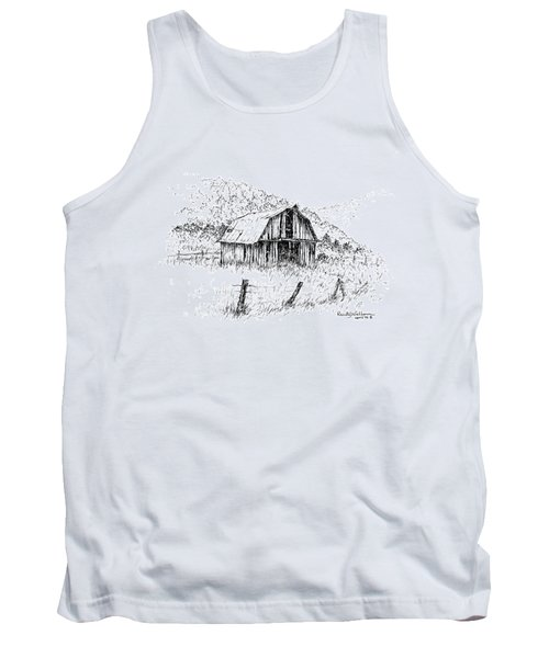 Tennessee Hills With Barn Tank Top