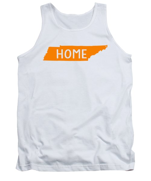 Tennessee Home Orange Tank Top
