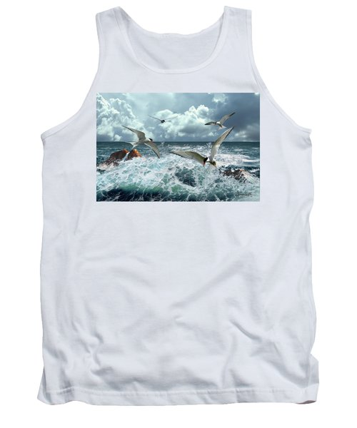Terns In The Surf Tank Top