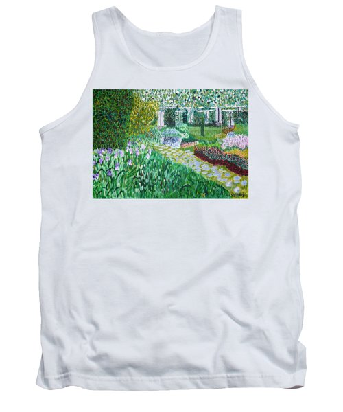 Tete D'or Park Lyon France Tank Top by Valerie Ornstein