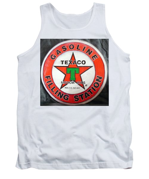 Texaco Sign Tank Top