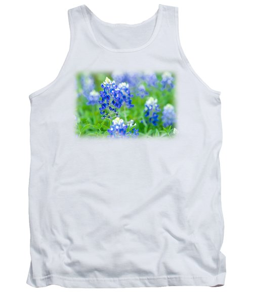 Texas Bluebonnet T-shirt Tank Top