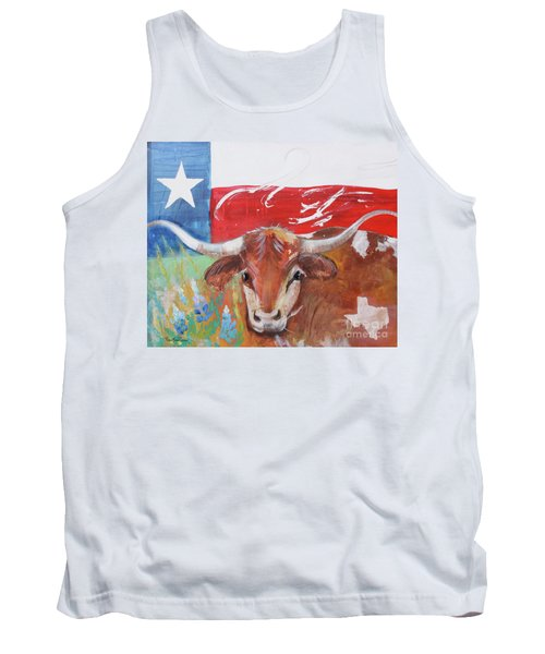 Texas Longhorn Tank Top