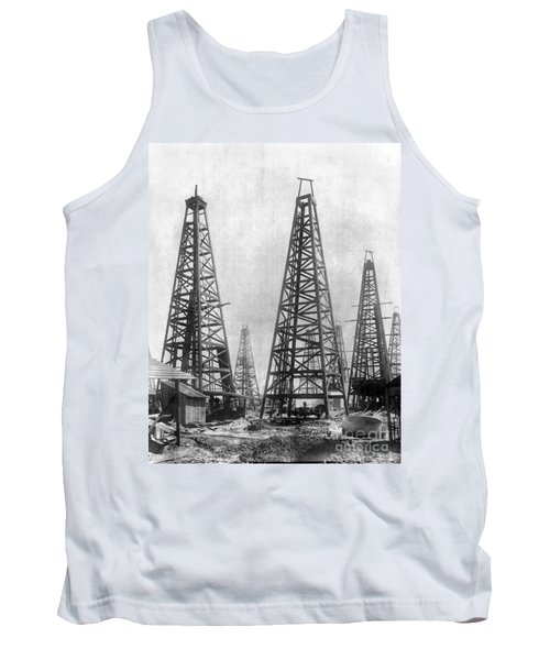 Texas: Oil Derricks, C1901 Tank Top