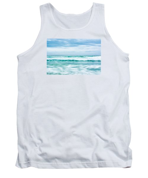 Textures In The Waves Tank Top by Shelby  Young