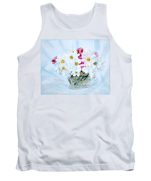 Thank You. Thank You - Je Vous Remerci Collection Of 2 Paintings Tank Top