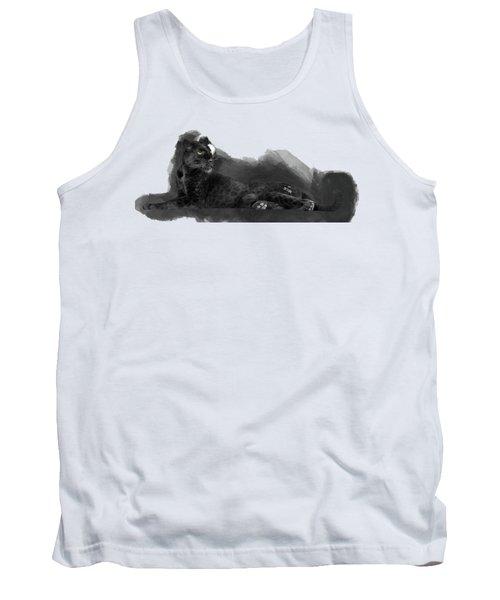 That Beautiful Black Panther Tank Top