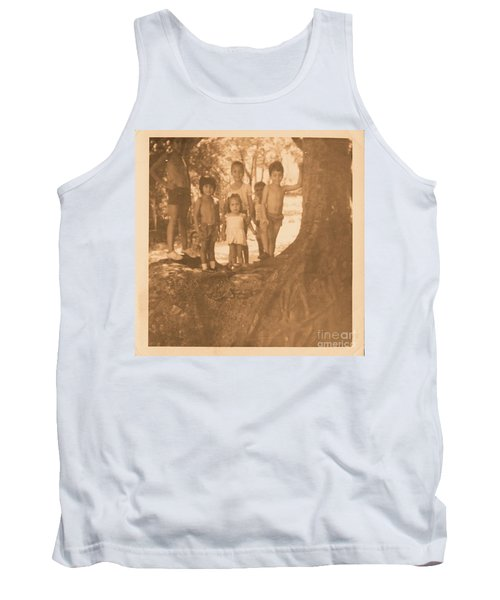 The 70's Series - 1 Tank Top by Beto Machado