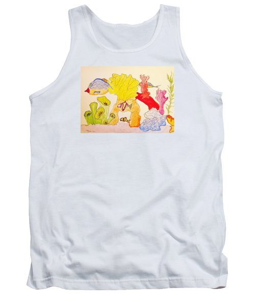 The Age Of Aquarium Tank Top by Rand Swift