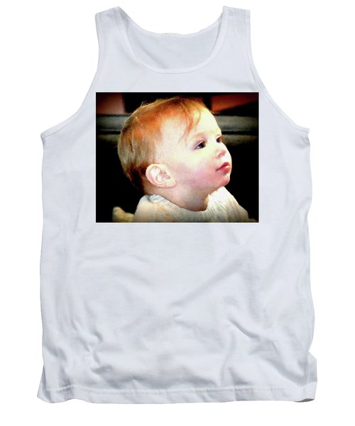 Tank Top featuring the photograph The Age Of Innocence by Barbara Dudley
