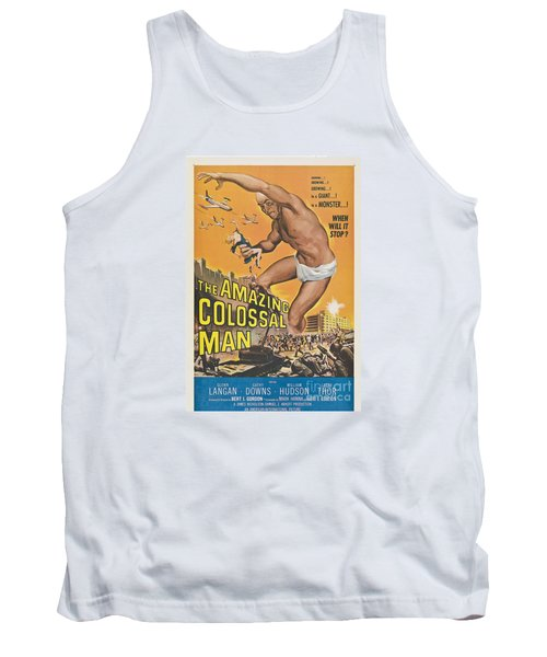 The Amazing Colossal Man Movie Poster Tank Top