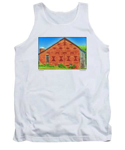 Tank Top featuring the photograph The Ascension by R Thomas Berner