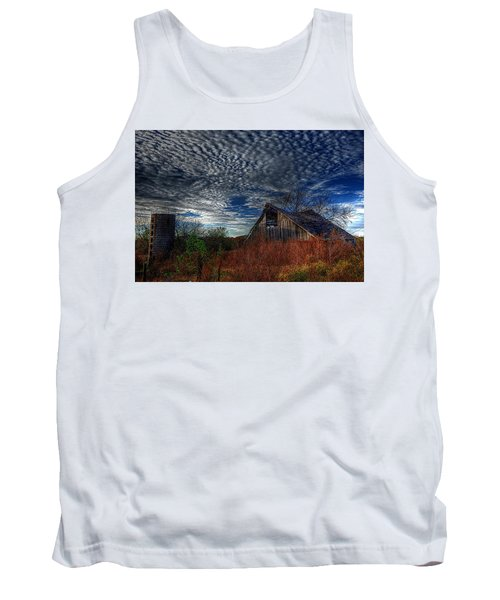 The Barn At Twilight Tank Top by Karen McKenzie McAdoo