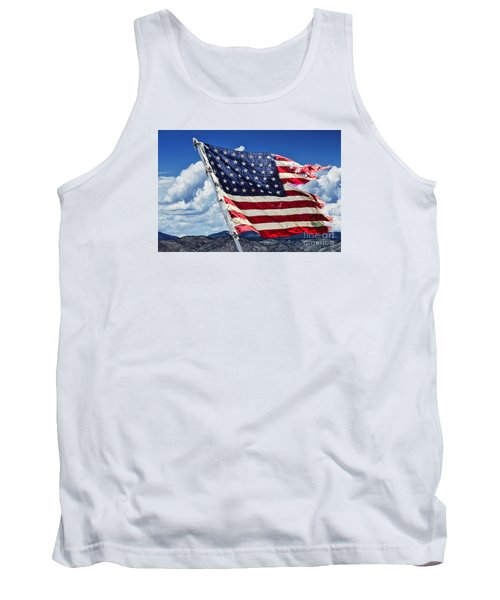 The Battles I Have Seen Tank Top by Steven Parker
