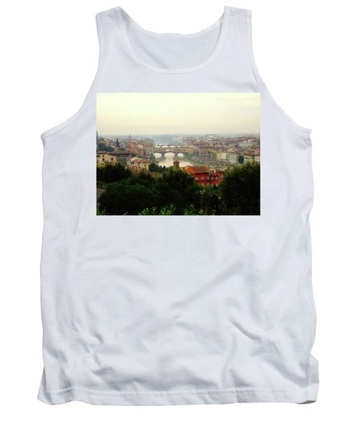 Tank Top featuring the photograph The Beauty Of Florence  by Alan Lakin