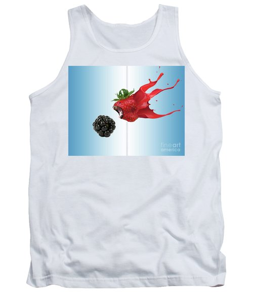 Tank Top featuring the photograph The Berries by Juli Scalzi
