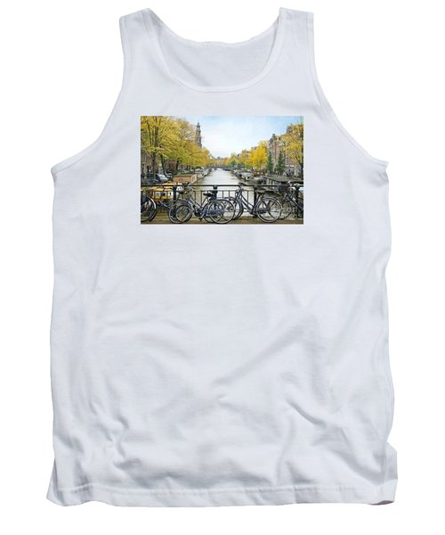 The Bicycle City Of Amsterdam Tank Top