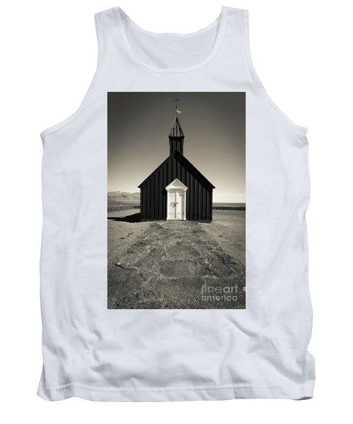 Tank Top featuring the photograph The Black Church by Edward Fielding