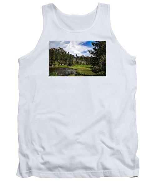 Tank Top featuring the photograph The Black Hills Of Custer State Park by Deborah Klubertanz