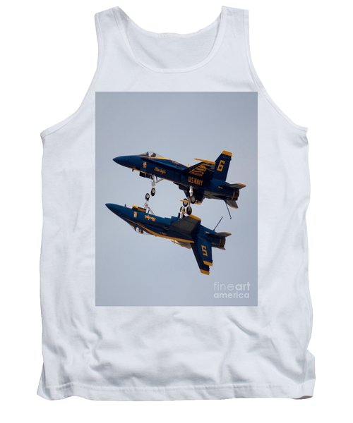 The Blue Angels Flying Over The Another Tank Top