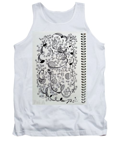 Chopin Nocturne No. 1 In B Flat Minor - Larghetto Tank Top