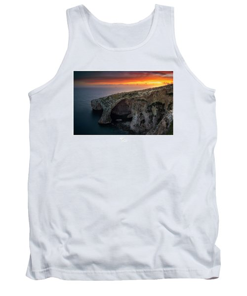 The Blue Grotto Tank Top