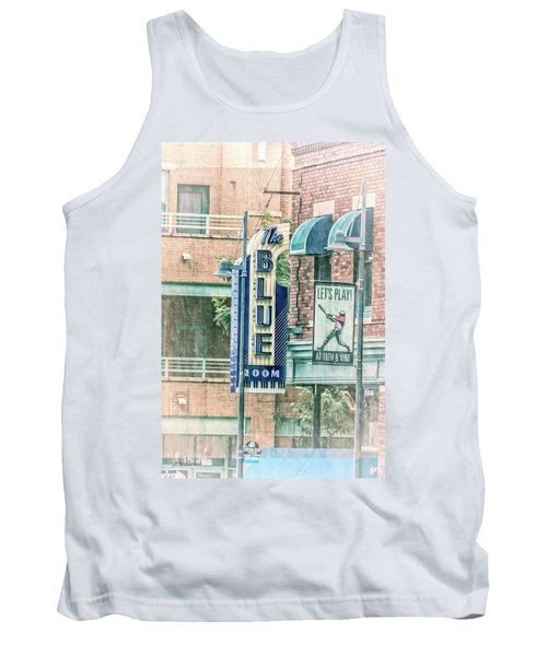 The Blue Room Tank Top by Pamela Williams